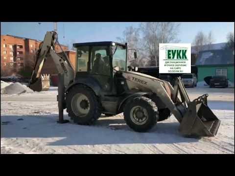 Практика трактор права категории С погрузчик экскаватор. Серия: супер коротко про тракторные права.