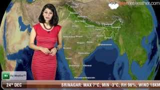 24/12/13 - Skymet Weather Report for India