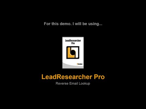 Reverse Email Lookup - How to do reverse email lookup with Email Address