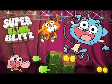 The Amazing World Of Gumball | Super Slime Blitz Game | DOWNLOAD NOW! | Cartoon Network