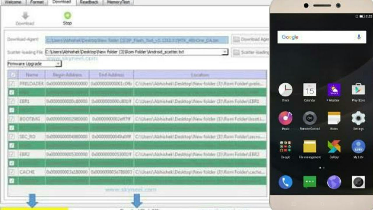 Unbrick Your Letv 1s/ Le Eco Using Sp Flash Tool 100% Working Method