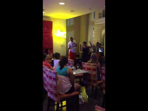 Karaoke at San Antonio