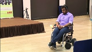 1st mind controlled wheelchair makes  movement easy for paralytic patients