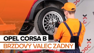 Údržba Opel Corsa C - video návod
