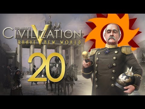 Civilization V Brave New World as Germany - Episode 20 ...Autocratic Decisions...