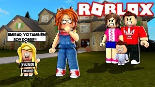 BABY INSOPORTABLE SALE WITHOUT CLOTHES TO THE STREET!! at MEEPCITY by ROBLOX 😱