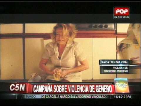 C5N - SOCIEDAD: CAMPAÑA SOBRE VIOLENCIA DE GENERO