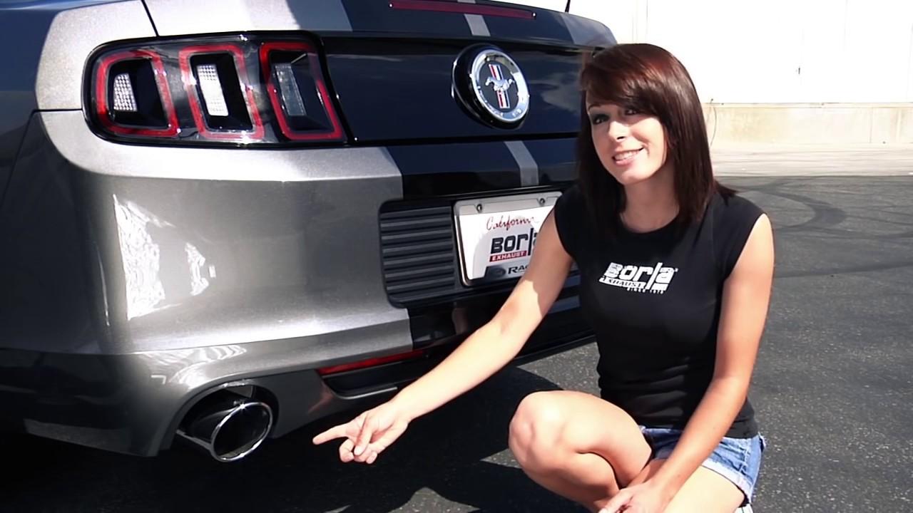 2011 2014 v6 mustang exhaust system sound borla atak vs s type vs touring