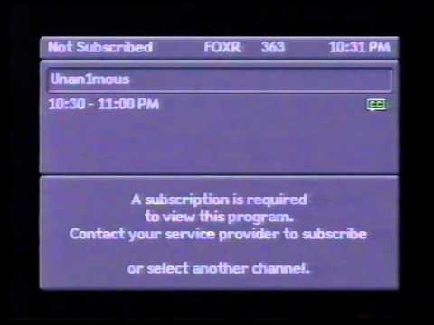 Surfing the Star Choice channel guide in 2006