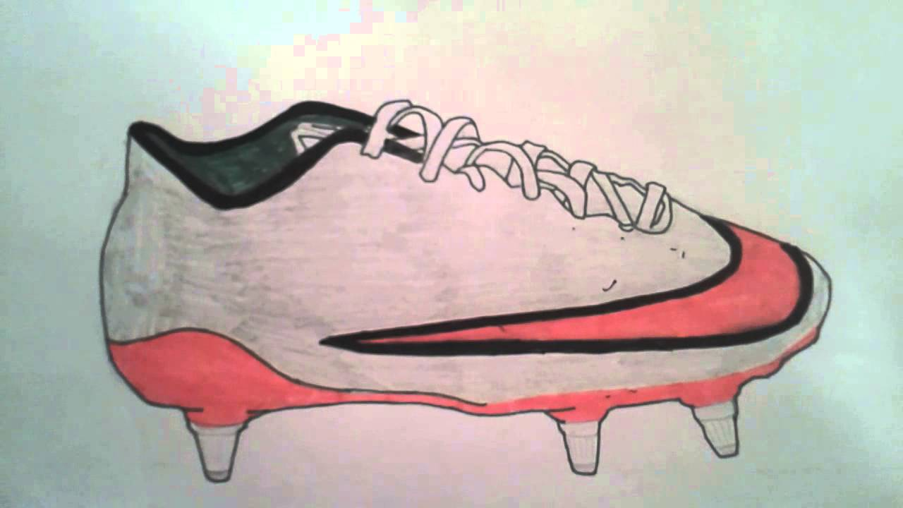 6435a7774 Drawing inspiration from Nike's American Football Boots, the Nike Mercurial  Superfly Prototype Concept Boot by NIKE MERCURIAL BOOT DRAWINGS . ...