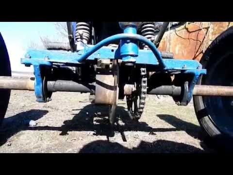 Обзор. Трицикл на базе ИЖ - Юпитер/Overview. Tricycle based on IL .