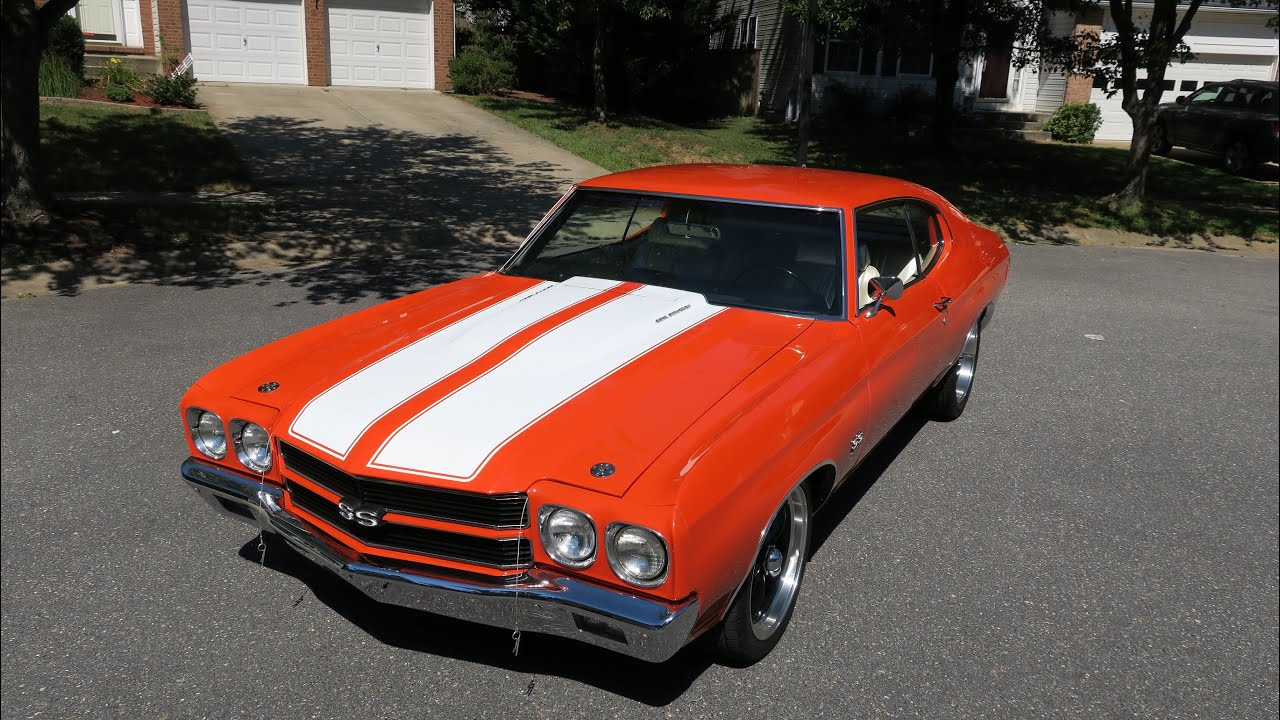 1970 chevelle ss restomod sold erics muscle cars