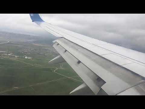 landing to Heydar Aliyev International Airport from dubai