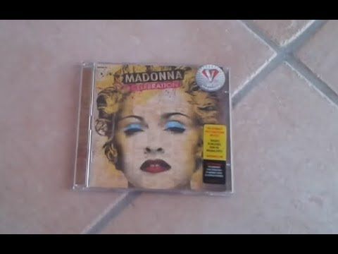 Madonna - Celebration ( Deluxe Edition ) Unboxing