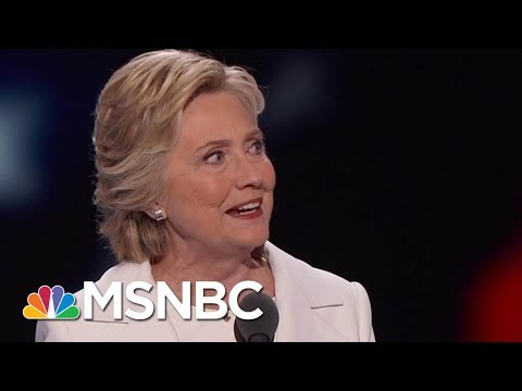 Clinton: Following Obama Made It Hard To Run As An 'Agent Of Change' | Velshi & Ruhle | MSNBC