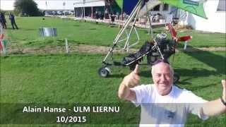 ULM LIERNU -  travelling arrière lors Journée Découverte Entreprise 10/2015