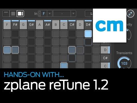 zplane reTune 1.2: Hands-on with Computer Music magazine