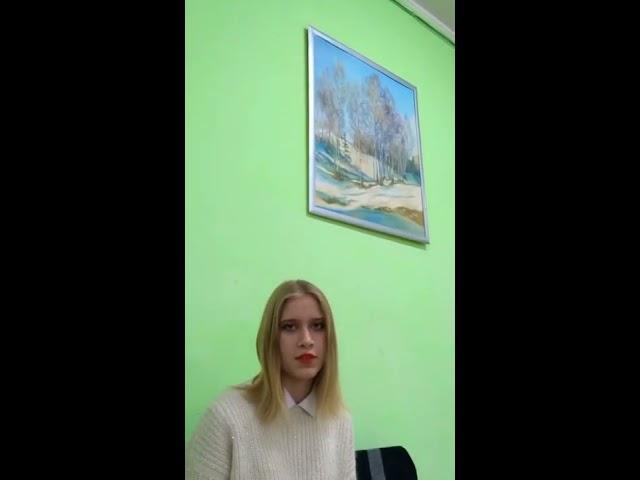 Изображение предпросмотра прочтения – АннаЛагунова читает произведение «Заметался пожар голубой» С.А.Есенина
