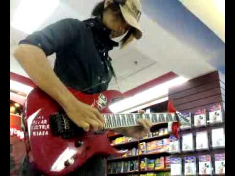 Guitarist Yaitu Acoy - Solo on Gramedia