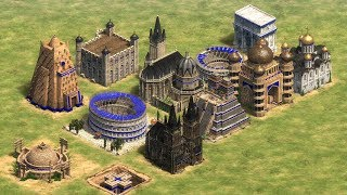 EVERY BUILDIING COLLAPSING - Age of Empires 2: Definitive Edition