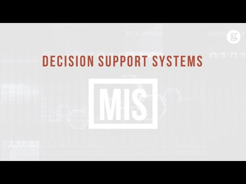 Understanding Decision Support Systems