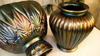 DIY | Iridescent Art Vase