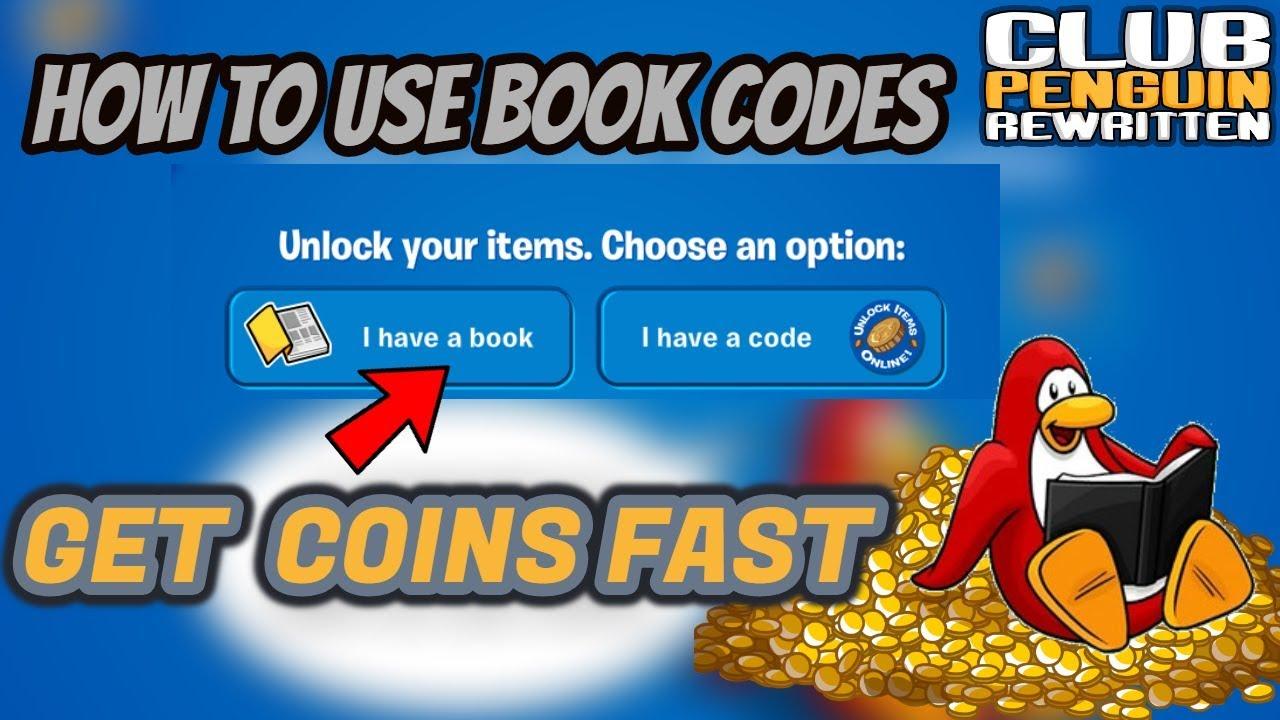 club penguin rewritten coin codes