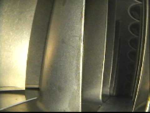 ISG REG LM2500 ESN 671-222 HPC Stg.6 inspection 5, Oct 11, 2011.AVI