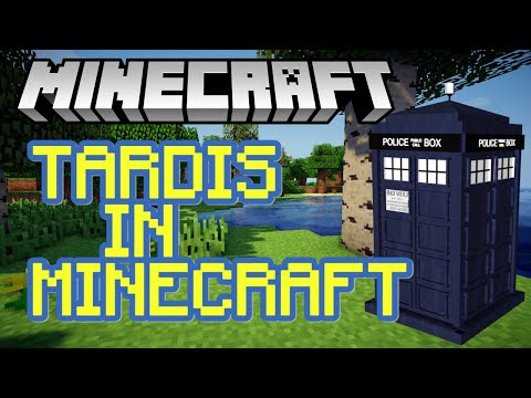MAKING THE TARDIS IN MINECRAFT! (DOCTOR WHO) SKILZIN1985 ft MARTHA MEW AND REBEL CLARE!