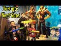NEW FORTNITE NERF GUNS | TOY FAIR 2019 DAY 2 | D&D SQUAD