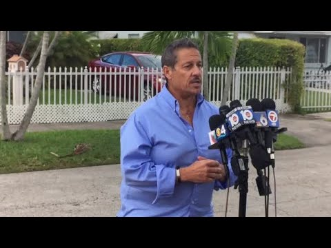 Commissioner Jose 'Pepe' Diaz holds press conference following arrest
