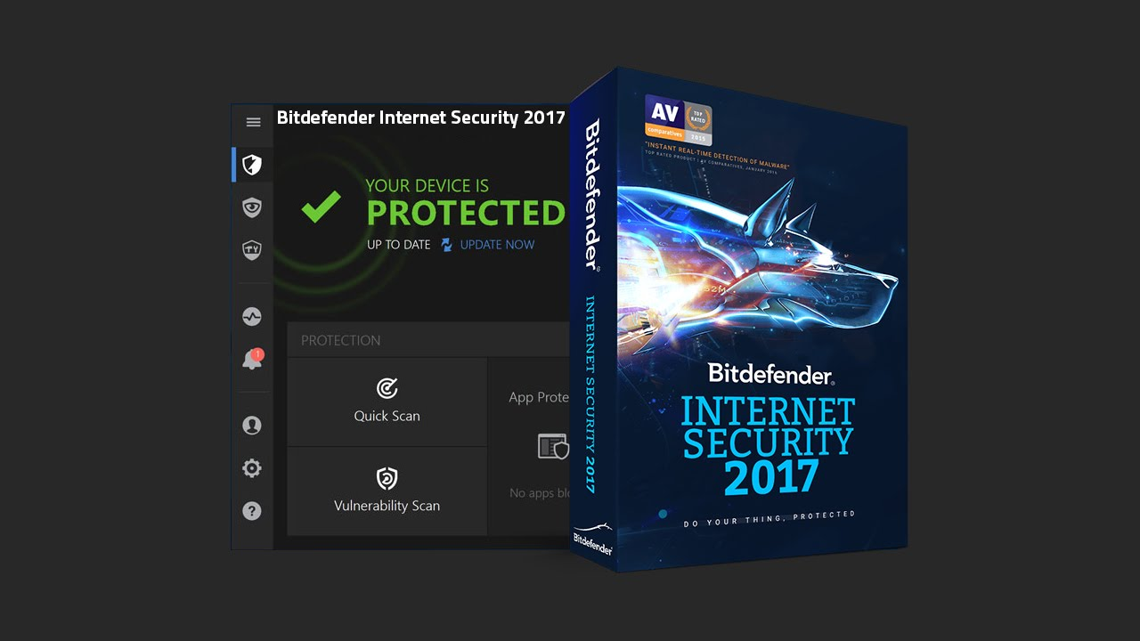 Bitdefender Internet Security - best free antivirus software for windows