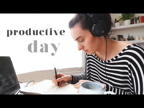 PRODUCTIVE DAY | MY TOP HACKS AND TIPS TO GET MORE WORK DONE