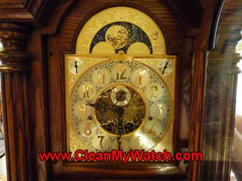 Sligh Grandfather Clock Youtube
