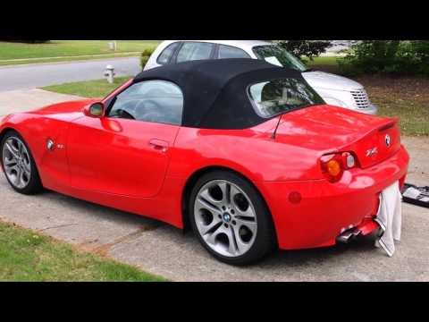 How to remove test and replace a BMW Z4 Soft Top Motor COMPLETE HD