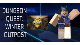 ¡¡¡SALIDA DE INVIERNO EN DUNGEON QUEST!! LVL 33+ RobLOX Dungeon Quest TheKittyROBLOX