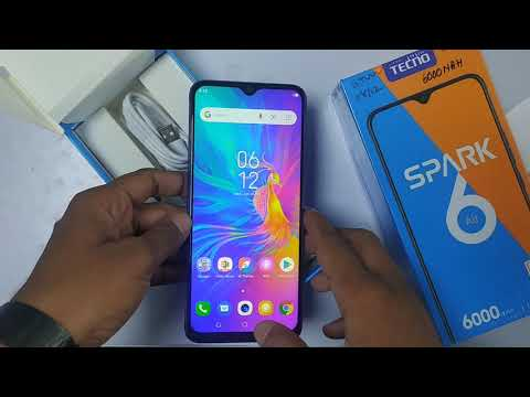Tecno Spark 6 Air Smartphone Unboxing & Quick look