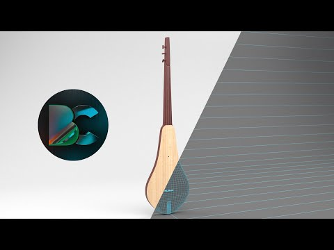 3ds max Комуз Моделин жасашты үйрөнөбүз / Komuz Modeling in 3ds max