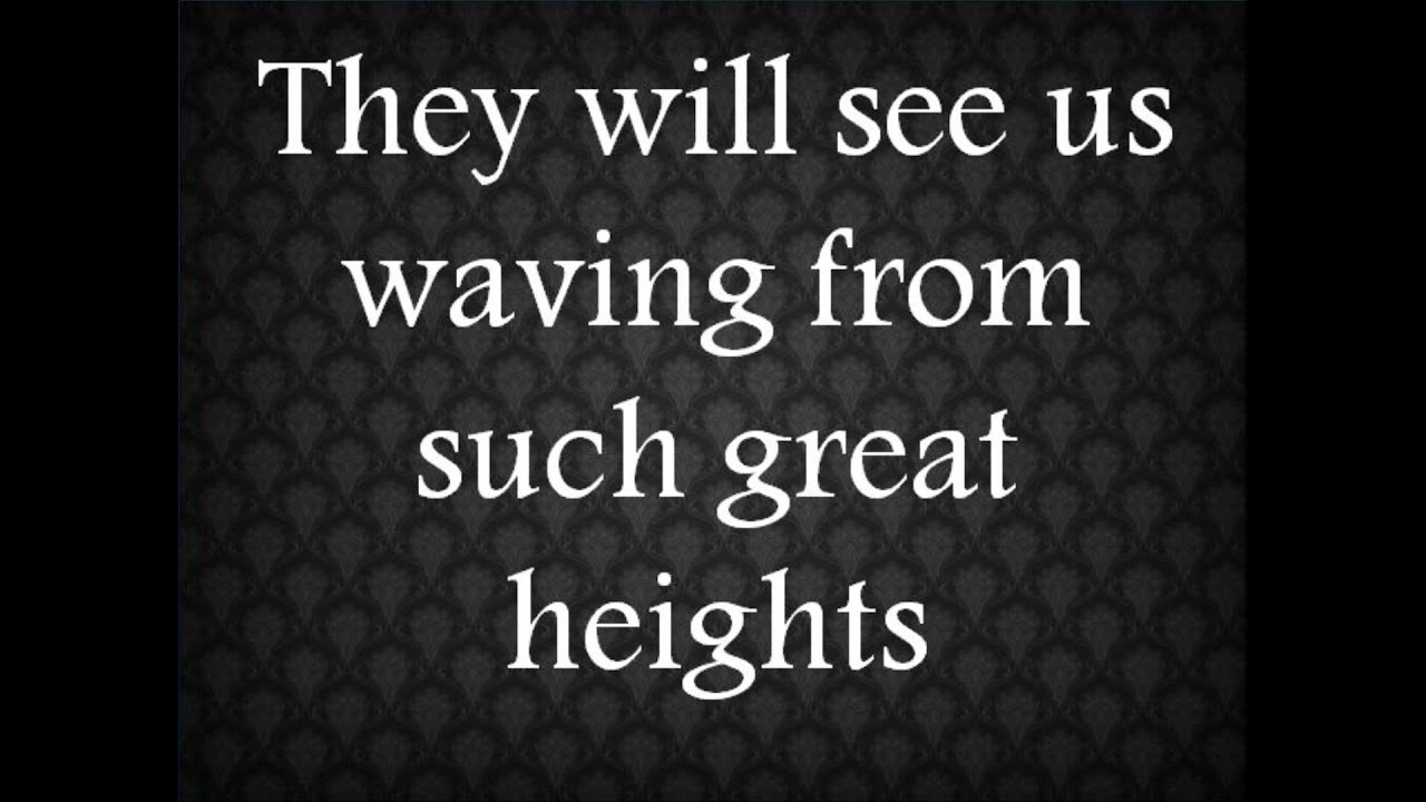 The Postal Service Such Great Heights Lyrics Youtube