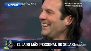Solari muestra su lado más personal hace cuatro años en 'El Chiringuito'
