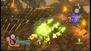 Dungeon Siege 3 III XBOX 360 - Maru Yatum Boss Fight