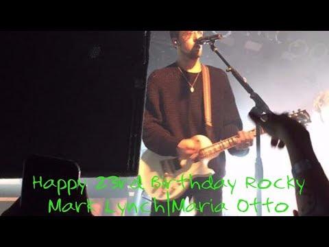 Happy 23 Birthday Rocky Mark Lynch  Maria Otto