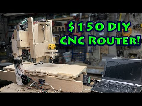 Craptacular $150 DIY CNC Build That Actually Works!