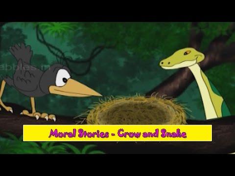 Crow & Snake | Kauva aur Saap | Moral Stories for Kids | Hindi Kahaniya for Children HD