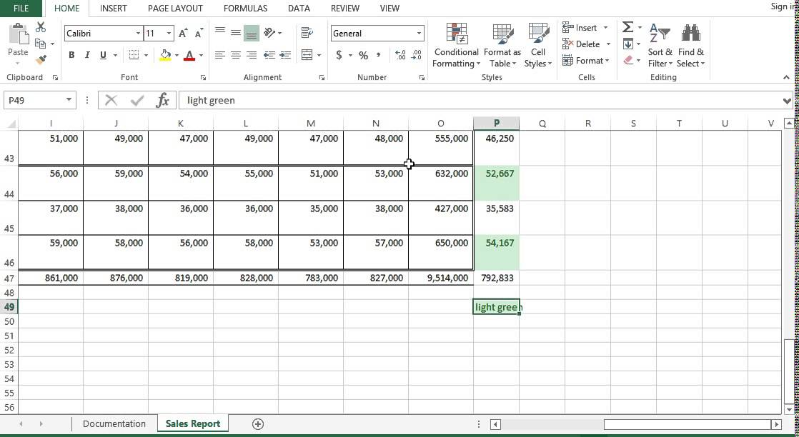 how to make a legend in excel