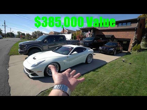 What Does Insurance Cost For A $255K Ferrari? + BMW M5   Ford Raptor   Ford F150 (Supercharged)