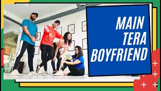 Bollywood Dance Workout at Home | Main Tera Boyfriend Dance Cover Fitness | FITNESS DANCE With RAHUL