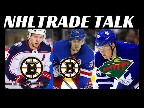 NHL Trade Talk - Leafs, Bruins, Wild, Rangers