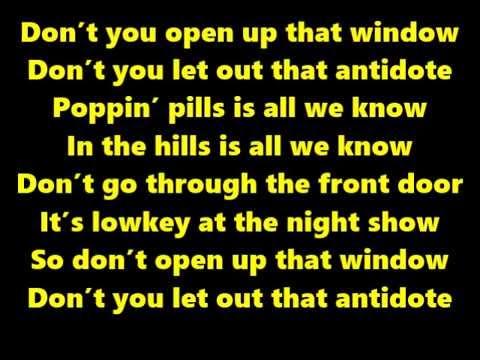 Travis Scott- Antidote (Lyrics On Screen)