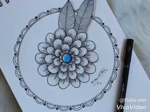 mandala,s flower | زهرة المندالا - Видео онлайн